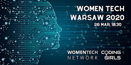 WomenTech Warsaw 2020 (Partner Tickets) tickets