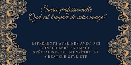 """Soirée professionnelle """" Conseil en image"""" billets"""