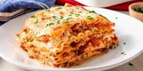 Free Community Meal - Lasagna tickets
