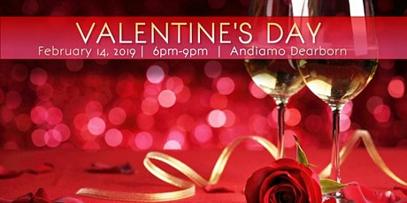 Valentine's Dinner & Comedy Show at Andiamo tickets