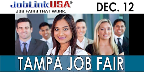 TAMPA JOB FAIR - JOBLINK USA / TAMPA BAY JOBLINK DECEMBER 12 tickets
