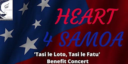 Heart 4 Samoa 'Tasi le loto, Tasi le fatu' Benefit Concert