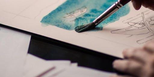 Aquarellkurs für Kinder | Workshop