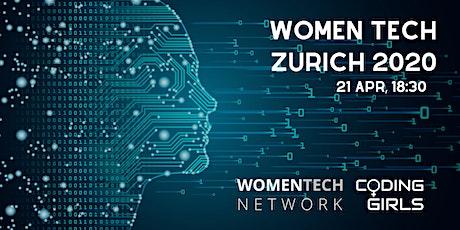 WomenTech Zurich 2020 (Partner Tickets) tickets