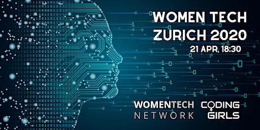 WomenTech Zurich 2020 (Partner Tickets)