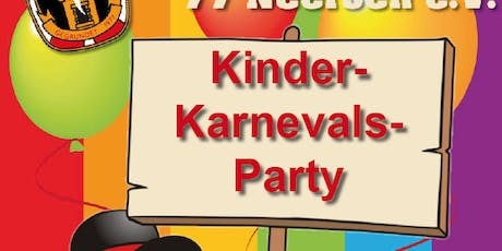 Kinder-Karnevalsparty tickets