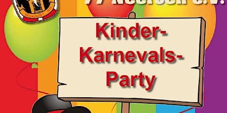Kinder-Karnevalsparty tickets