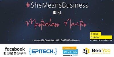 Masterclass #SheMeansBusiness - Nantes