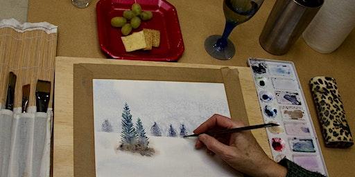 Watercolour & Wine