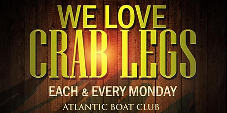 $20 Crab Legs - Free Rum Punch & Sangria 5pm to 6pm tickets