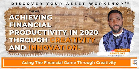 Achieving Financial Productivity In 2020 Through Creativity And Innovation tickets
