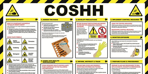 Cleaning Principles and COSHH Funded Course - Staveley