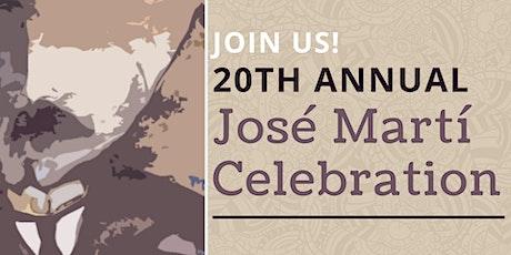 20th Annual José Martí Celebration tickets
