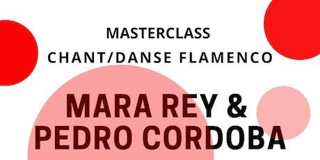 Flamenco Masterclass avec Pedro Cordoba & Mara Rey  biglietti