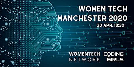 WomenTech Manchester 2020 (Partner Tickets) tickets