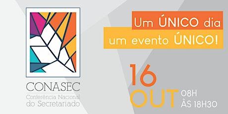 CONASEC 2020 ingressos