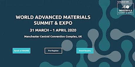 World Advanced Materials Expo tickets