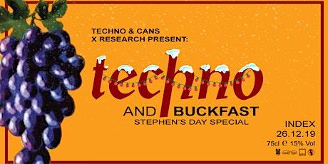 Index : Techno & Buckfast tickets