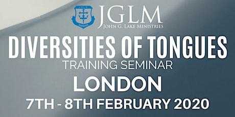 LONDON JGLM DIVERSITIES OF TONGUES SEMINAR tickets