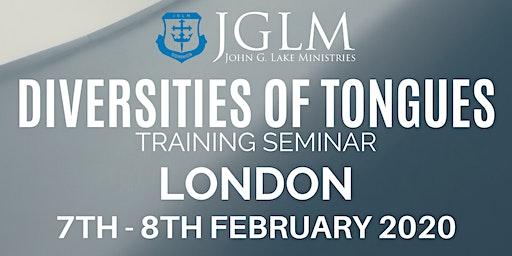 LONDON JGLM DIVERSITIES OF TONGUES SEMINAR