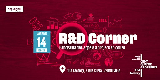 R&D CORNER - Janvier 2020