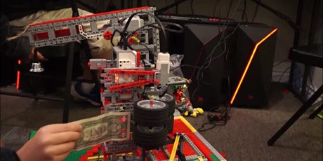 Donation Robot Testing and Holiday Building with LEGO(r) Bricks tickets