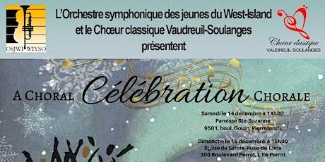 Une célébration chorale tickets