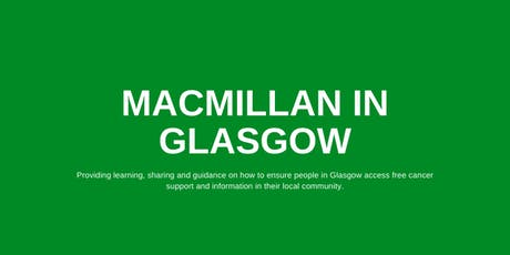 Macmillan in Glasgow: Learning Session in March tickets
