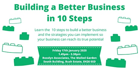 Building a Better Business in 10 Steps tickets