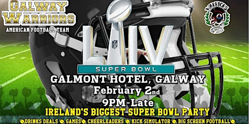 Superbowl Party  Galway