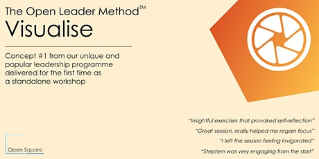 Open Leader Method™ - 1-Day Visualise Workshop tickets