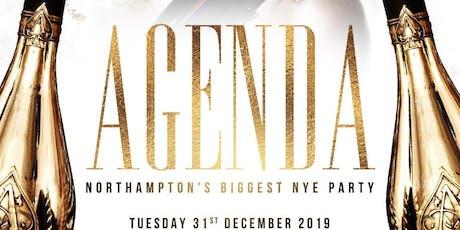 AGENDA - Northampton's Premier NYE Celebration tickets