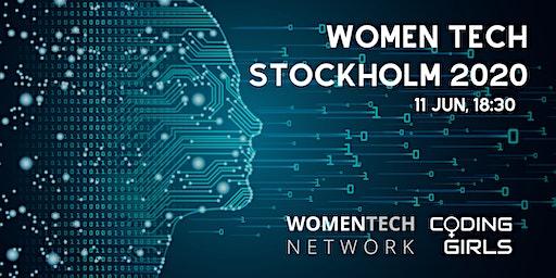 WomenTech Stockholm 2020 (Partner Tickets)