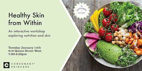 Healthy Skin from Within Workshop tickets