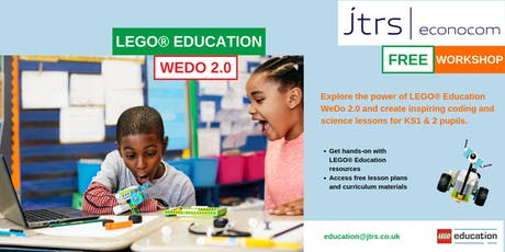 Exploring the Primary Computing and Science Curriculum with LEGO® Education WeDo 2.0 - Oakham tickets