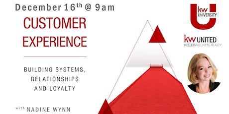 Customer Experience tickets