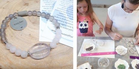 DIY Teachers Rose Quartz Aromatherapy Intention Bracelet Workshop tickets