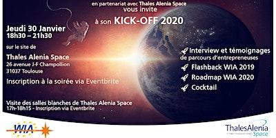 WIA Kick-Off 2020 - Soirée KO : Nouvelle année, nouveaux départs ...