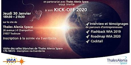 WIA Kick-Off 2020 - Soirée KO : Nouvelle année, nouveaux départs ... billets