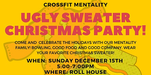 CROSSFIT MENTALITY UGLY SWEATER CHRISTMAS PARTY!