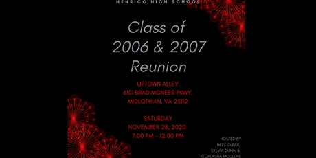 Class of 2006 & 2007 Reunion tickets