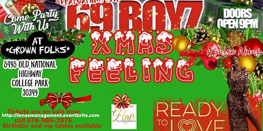 Christmas Jamz w/ the 69 Boyz hosted by Ashlee Akins from Ready to Love