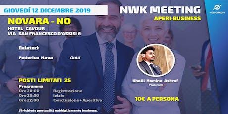 PRESENTAZIONE APERIBUSINESS MEETING - NWK COMMUNITY 12/12 - NO biglietti