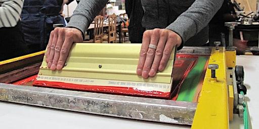 Workshop: Meerkleuren zeefdruk papier