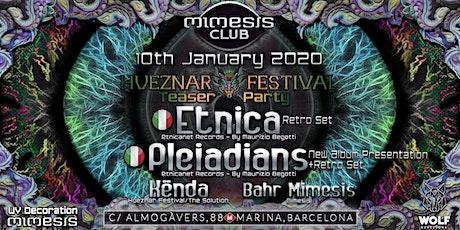 Mimesis CLUB - January Hueznar Festival Teaser w/ ETNICA & PLEIADIANS !! entradas