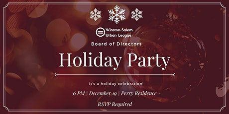 W-S Urban League Board Holiday Party tickets