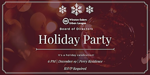 W-S Urban League Board Holiday Party