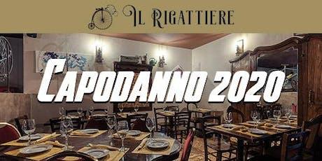 Capodanno 2020 ristorante Il Rigattiere 0698875854 biglietti