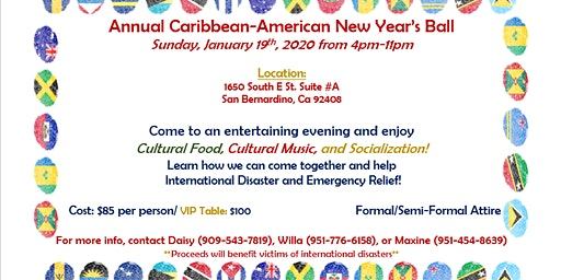 Annual Caribbean-American New Year's Ball