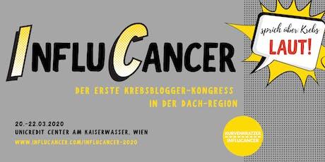 InfluCancer 2020 - der erste Krebsbloggerkongress in der DACH-Region Tickets